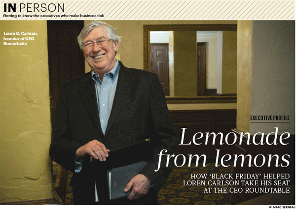 Loren Carlson Boston Business Journal In Person