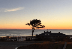 Sunset over Cape Cod from the Chatham Bars Inn