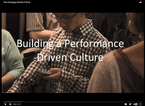 Building a Performance Driven Culture